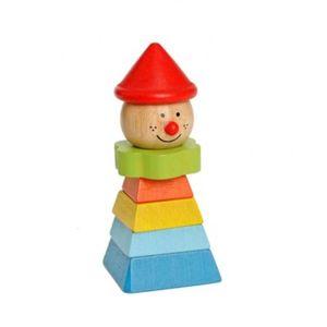 Clown mit rotem Hut