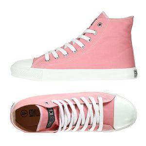 Fair Trainer White Cap Hi Cut Collection 17 - Ice Cream Pink/ Just White