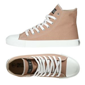 Fair Trainer White Cap Hi Cut Collection 17 - Light Clay/ Just White