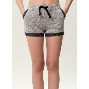 Damen Shorts - black/grey