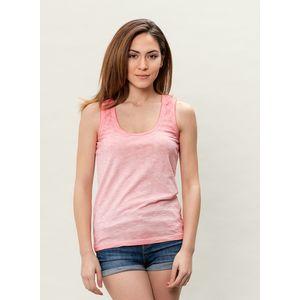Damen Garment Dyed Tank Top - peachy