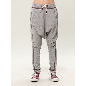 Damen Jogginghose - grey/burgundy