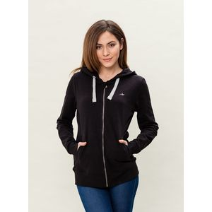 Damen Sweatjacke - black