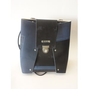 BackPack small - blau/schwarz