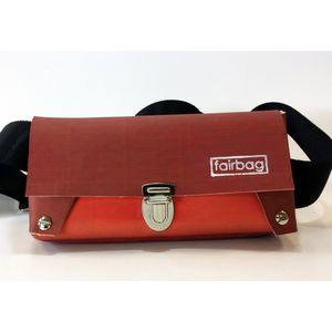 Bauchtasche - rot/orange