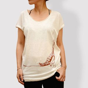Damen T-Shirt - Vintage White