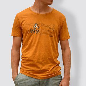Männer T-Shirt Frosch