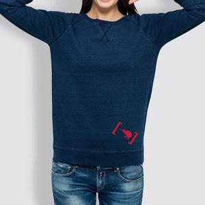 Denim Sweater Indigo
