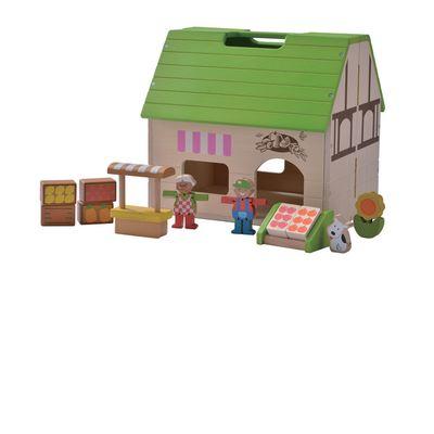 Bio-Laden Puppenhaus