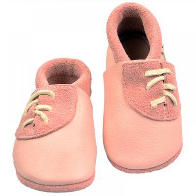 Haferl-Pantolinos rosa Lasche