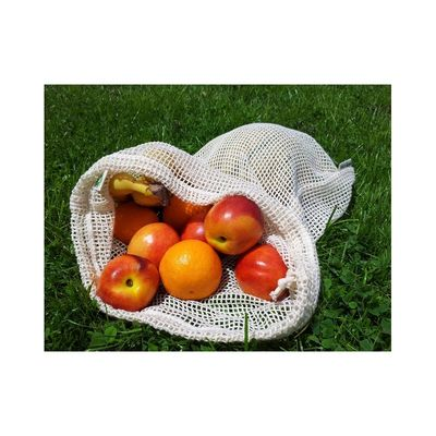 Obst und Gemüsenetz aus Biobaumwolle