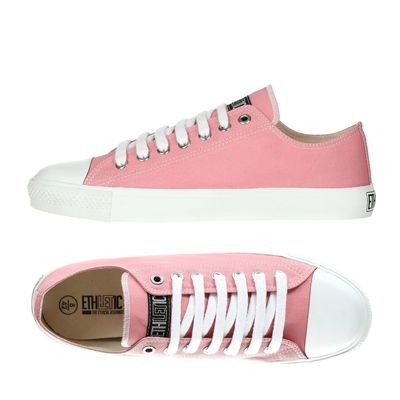 Fair Trainer White Cap Lo Cut Collection 17 - Ice Cream Pink/ Just White