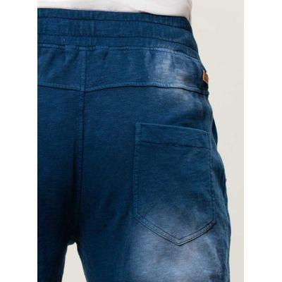 Herren Garment Dyed Shorts - indigo