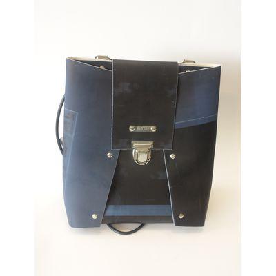 BackPack small - blau/schwarz