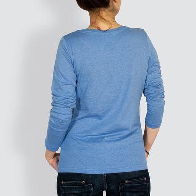 Langarm T-Shirt, Rücken
